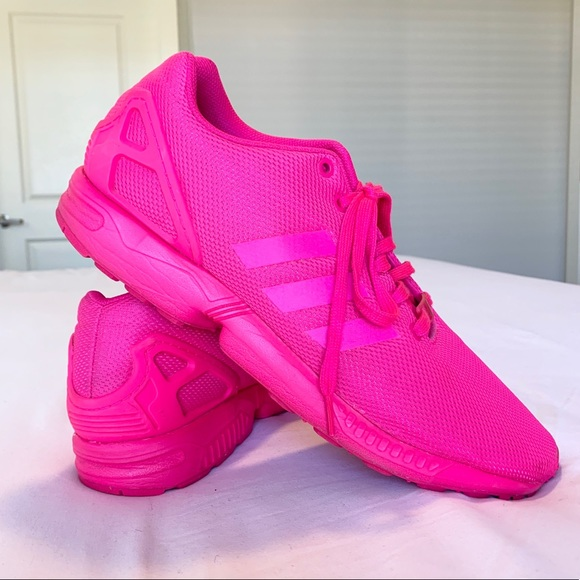 pretty nice a6a94 9eda9 adidas Other - adidas Originals ZX Flux Pink Shock- Men s Size 12